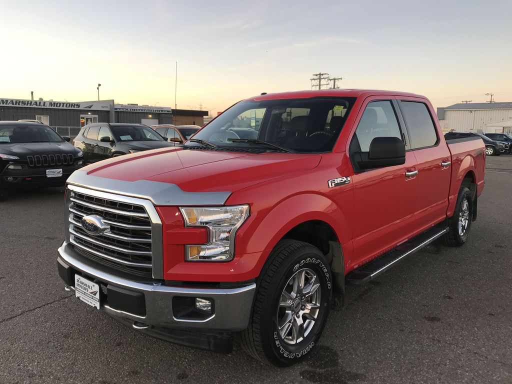 "Red 2017 Ford F-150 4WD SuperCrew 145"" XLT *Bluetooth**Fog Lights*Back-Up Cam*"