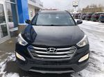 Black[Twilight Black] 2014 Hyundai Santa Fe Sport Front Vehicle Photo in Canmore AB