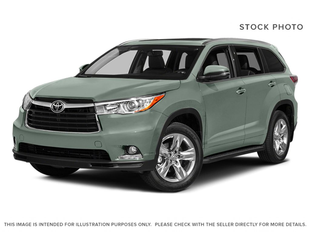 2014 Toyota Highlander LIMITED / SUNROOF