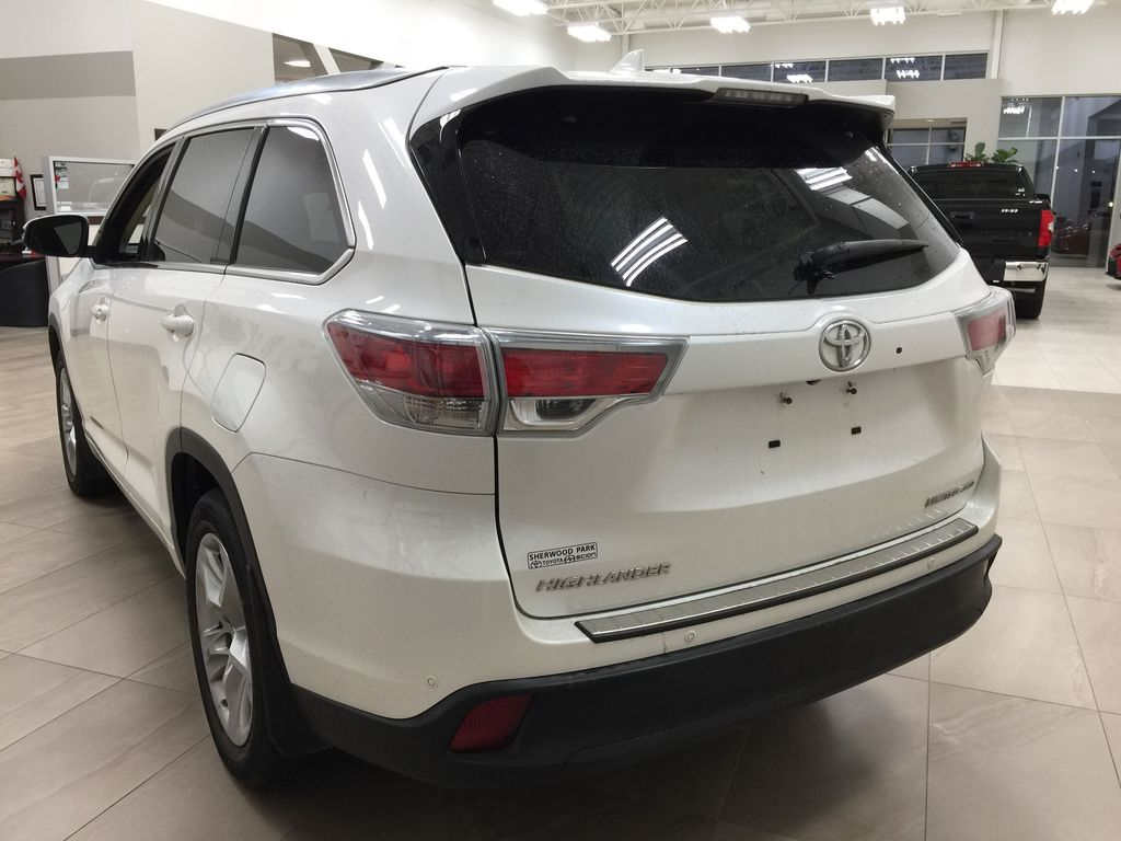 2014 Toyota Highlander LIMITED / SUNROOF Left Rear Corner Photo in Sherwood Park AB