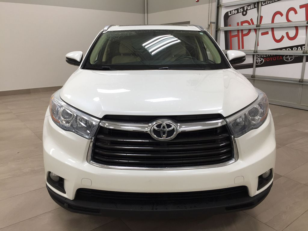 2014 Toyota Highlander LIMITED / SUNROOF Front Vehicle Photo in Sherwood Park AB