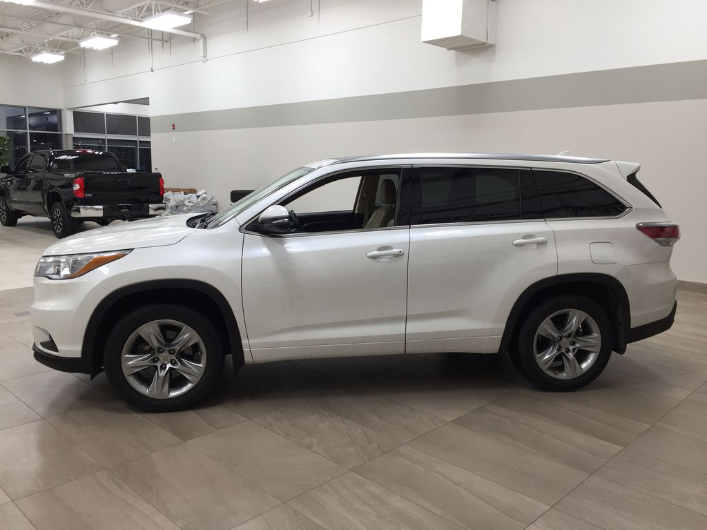 2014 Toyota Highlander LIMITED / SUNROOF Left Side Photo in Sherwood Park AB