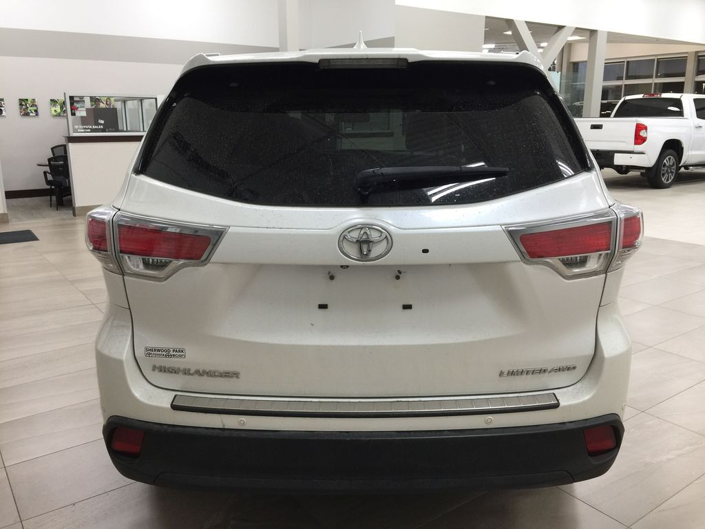 2014 Toyota Highlander LIMITED / SUNROOF Rear of Vehicle Photo in Sherwood Park AB