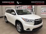 2014 Toyota Highlander LIMITED / SUNROOF Primary Listing Photo in Sherwood Park AB