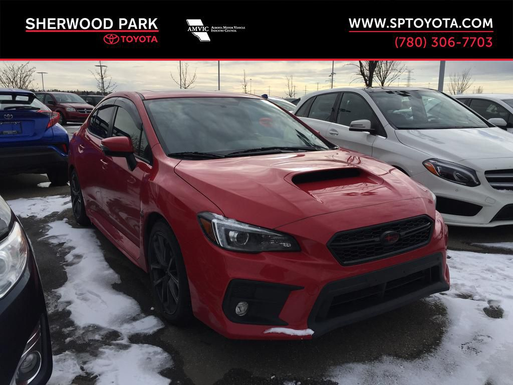 Red[Pure Red] 2018 Subaru WRX Sport-Tech / Low KMS