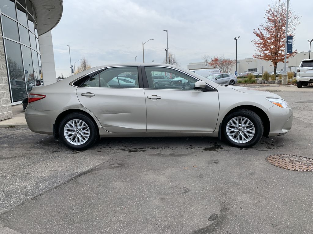 Beige 2016 Toyota Camry Front Vehicle Photo in Brampton ON