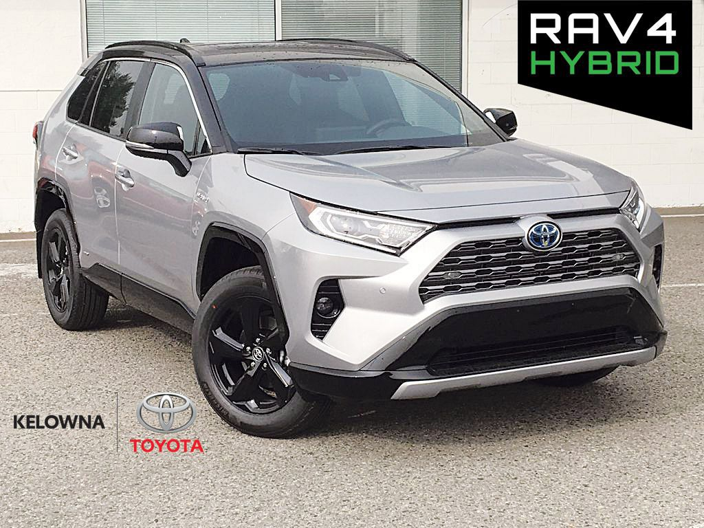 Silver[Silver Sky Metallic w/Black Roof] 2021 Toyota RAV4 XLE XSE Tech Package