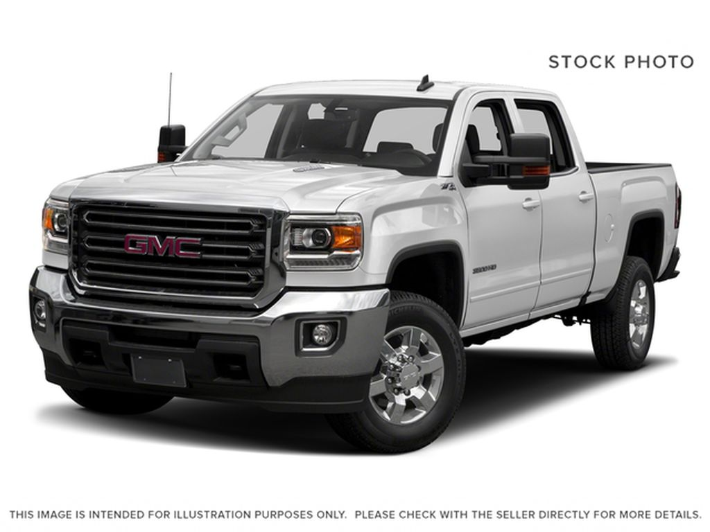White[Summit White] 2018 GMC Sierra 3500HD