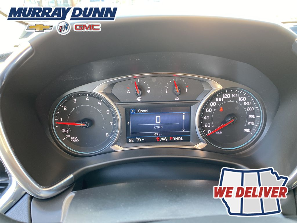 Summit Qhite 2021 Chevrolet Equinox LT Odometer Photo in Nipawin SK