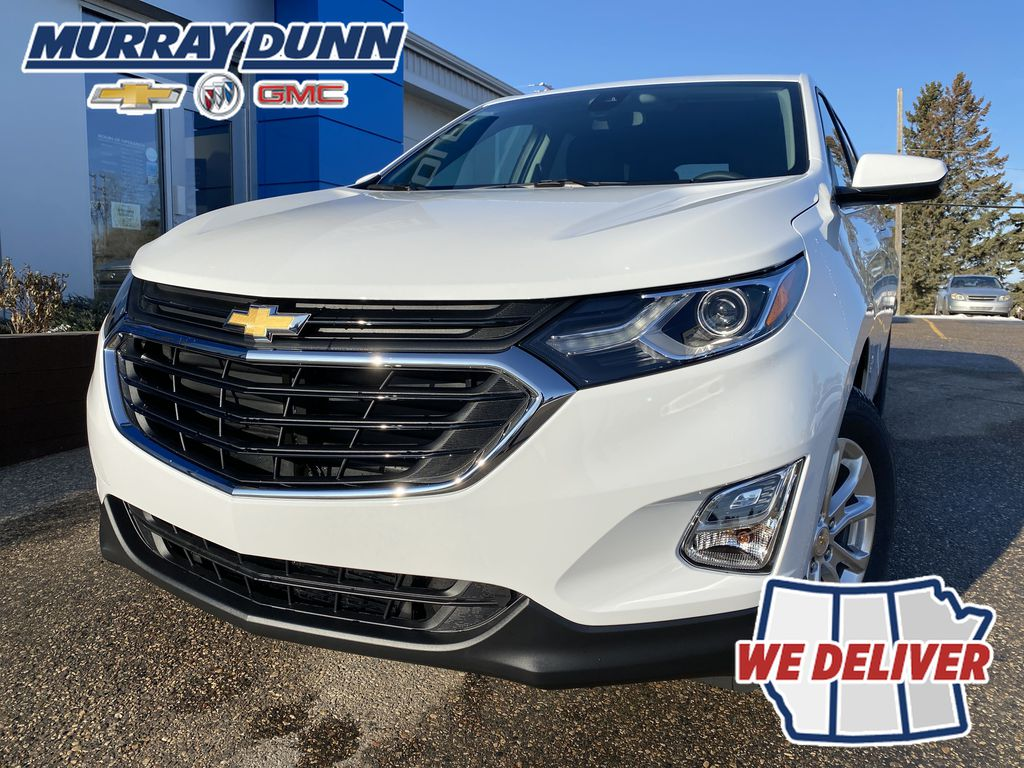 Summit Qhite 2021 Chevrolet Equinox LT LF Corner and Fog Lights (Low) in Nipawin SK