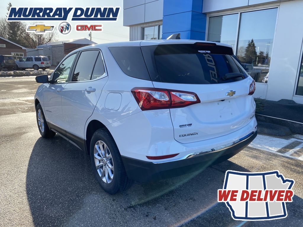 Summit Qhite 2021 Chevrolet Equinox LT Left Rear Corner Photo in Nipawin SK