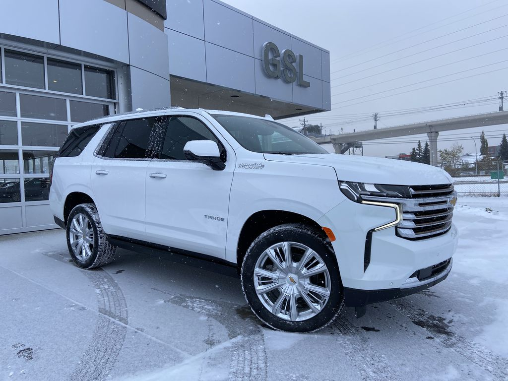 White[Summit White] 2021 Chevrolet Tahoe High Country