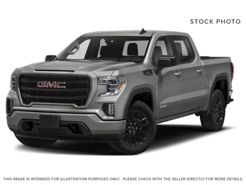 Quicksilver Metallic 2021 GMC Sierra 1500