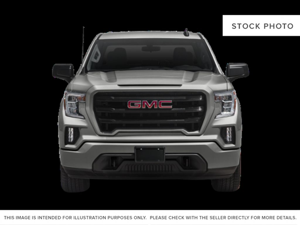 Quicksilver Metallic 2021 GMC Sierra 1500 Front Vehicle Photo in Oshawa ON