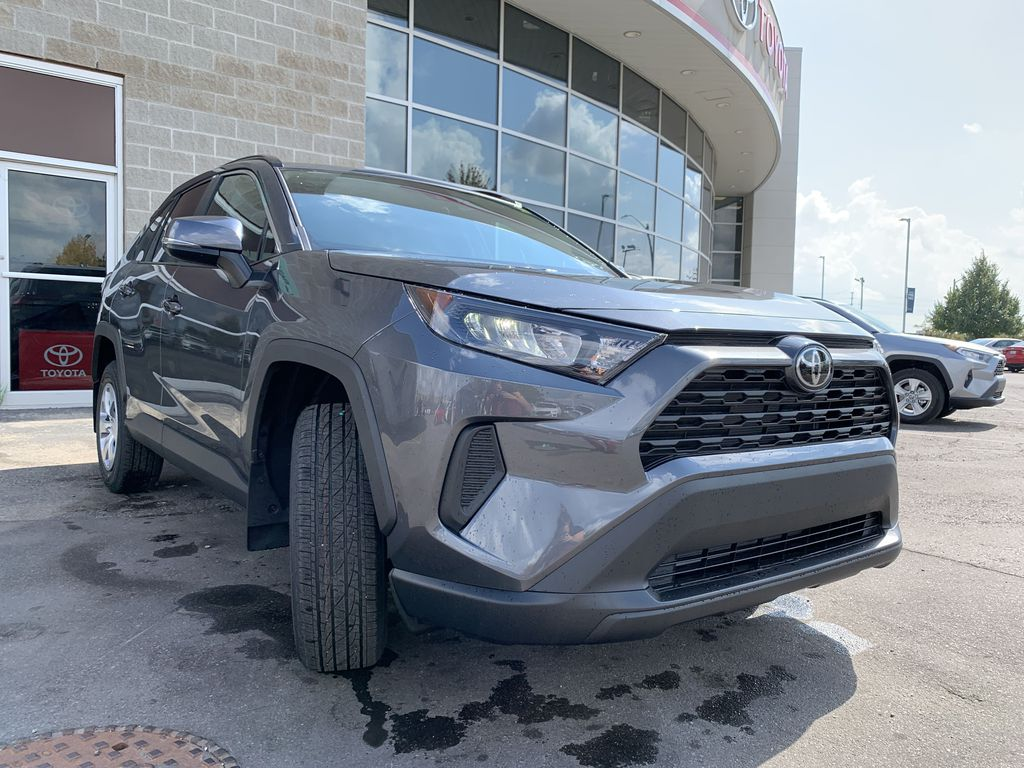 01G3 Magnetic Grey Metallic 2021 Toyota RAV4 FWD LE Standard Package Z1RFVT AM Engine Compartment Photo in Brampton ON