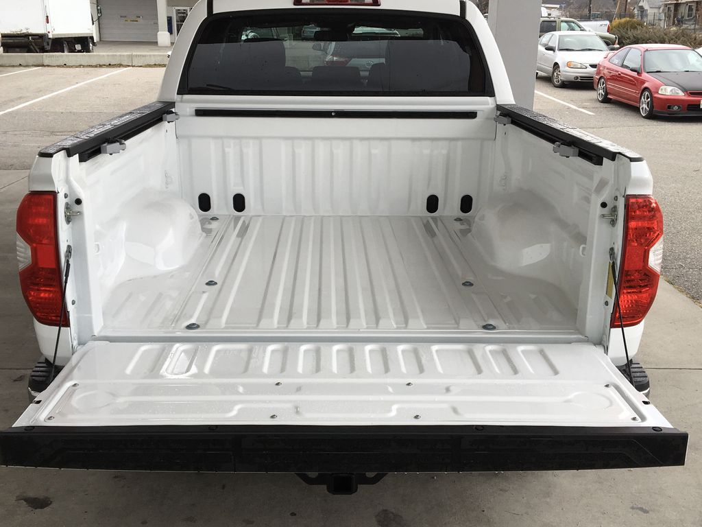White[Super White] 2021 Toyota Tundra TRD Off Road Trunk / Cargo Area Photo in Kelowna BC