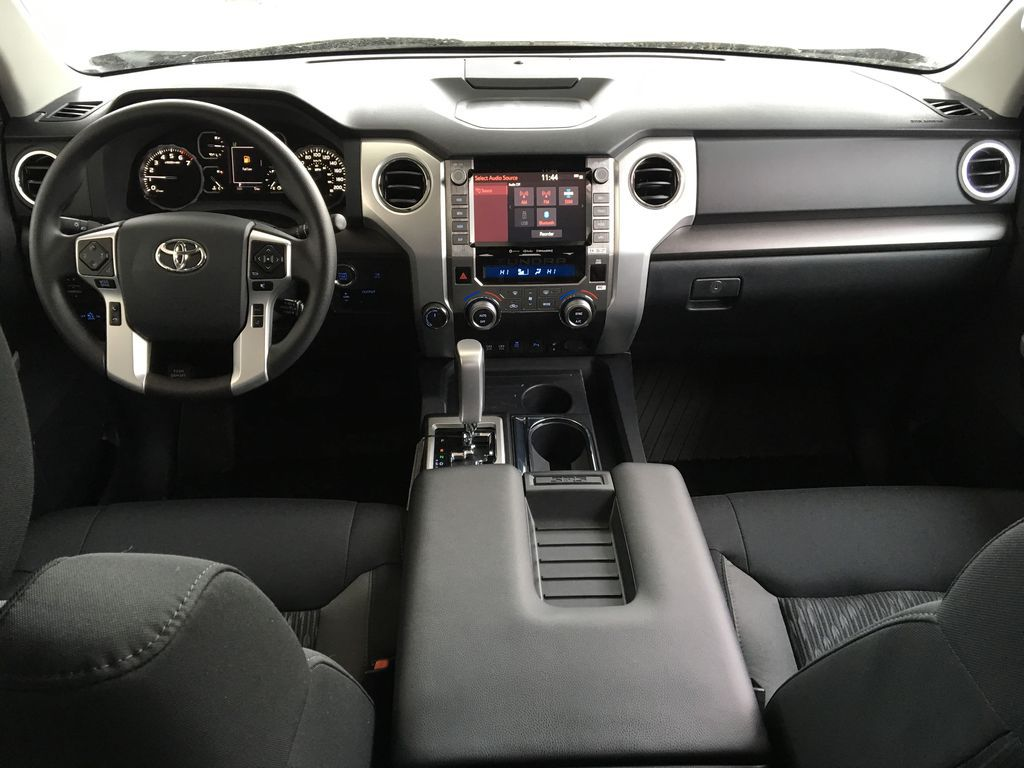 White[Super White] 2021 Toyota Tundra TRD Off Road Center Console Photo in Kelowna BC