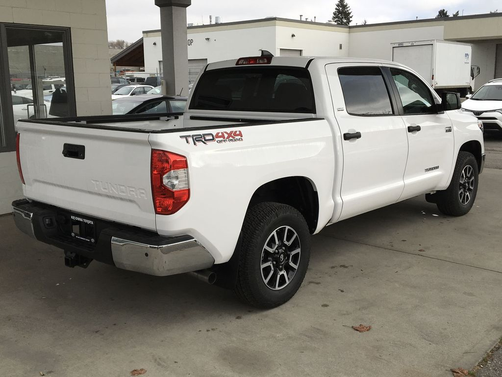 White[Super White] 2021 Toyota Tundra TRD Off Road Right Rear Corner Photo in Kelowna BC