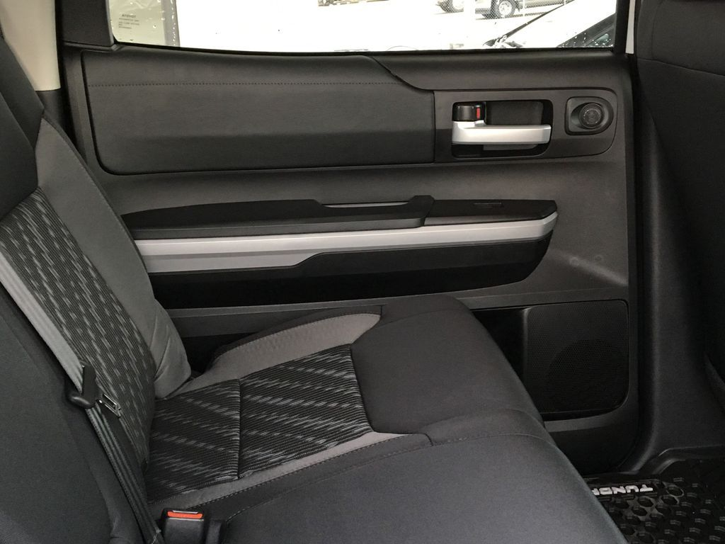 White[Super White] 2021 Toyota Tundra TRD Off Road Left Rear Interior Door Panel Photo in Kelowna BC