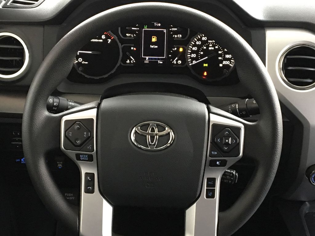 White[Super White] 2021 Toyota Tundra TRD Off Road Odometer Photo in Kelowna BC