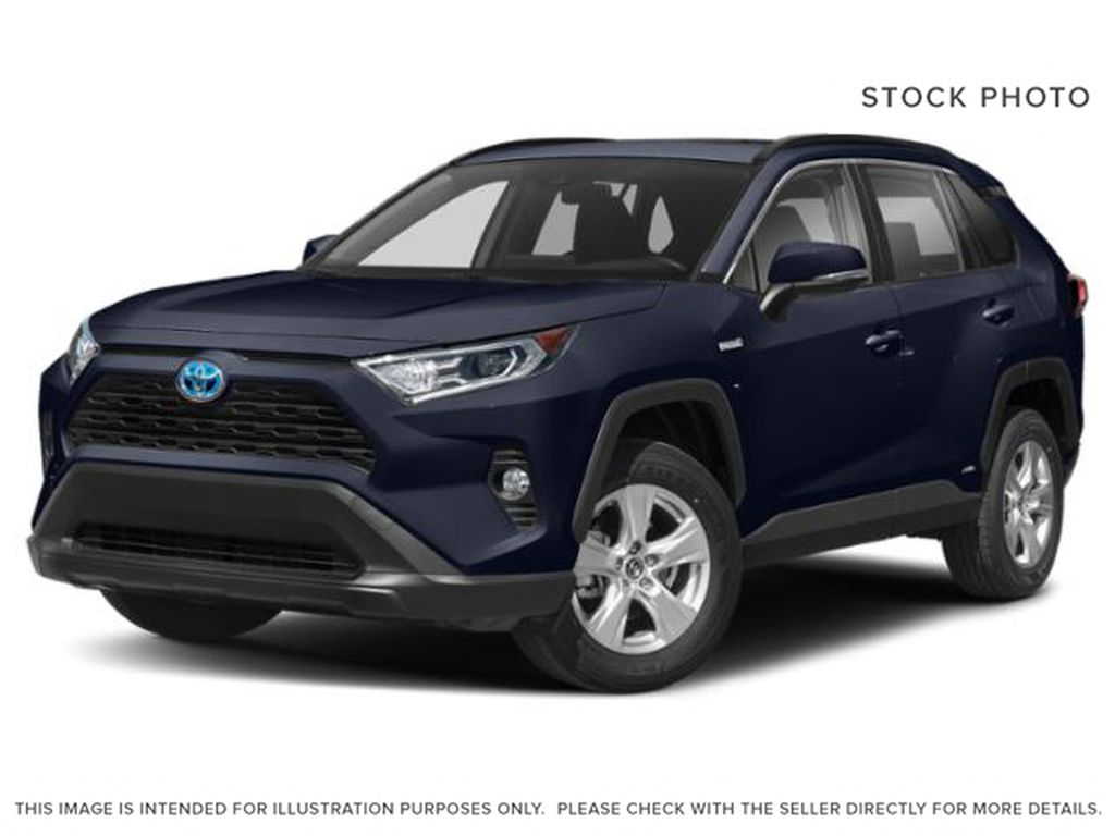 Blue[Blueprint w/Black Roof] 2021 Toyota RAV4 XLE