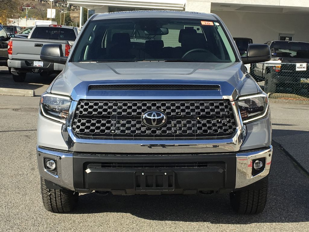 Gray[Cement] 2021 Toyota Tundra TRD Off Road Front Vehicle Photo in Kelowna BC