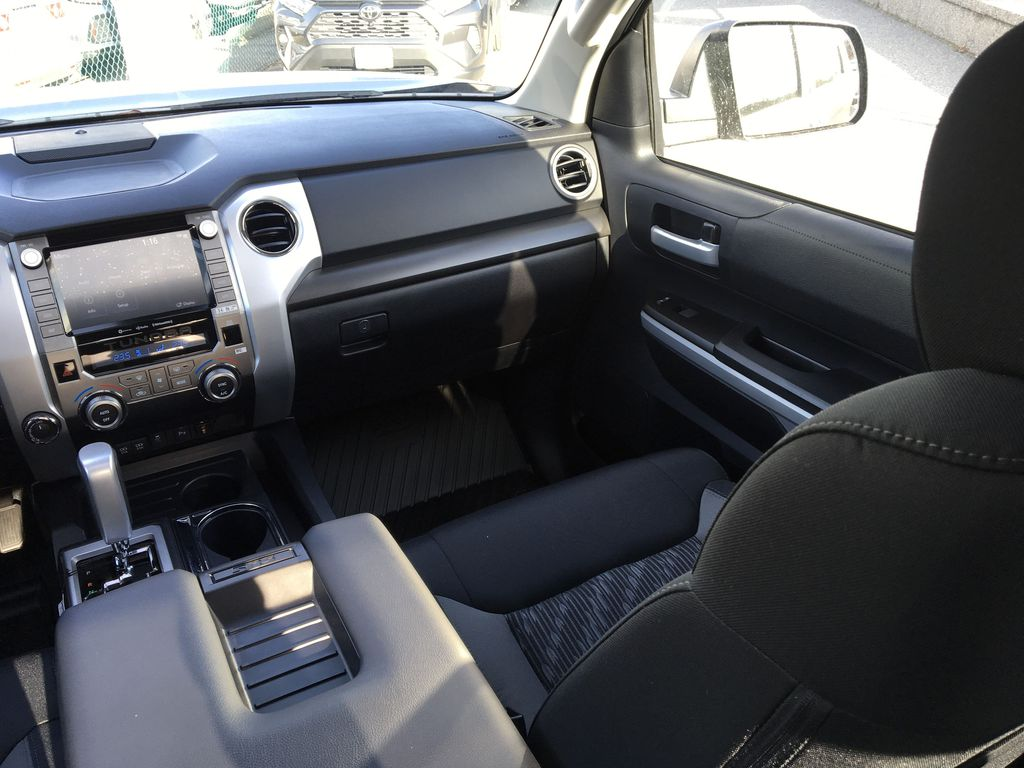 Gray[Cement] 2021 Toyota Tundra TRD Off Road Right Side Front Seat  Photo in Kelowna BC