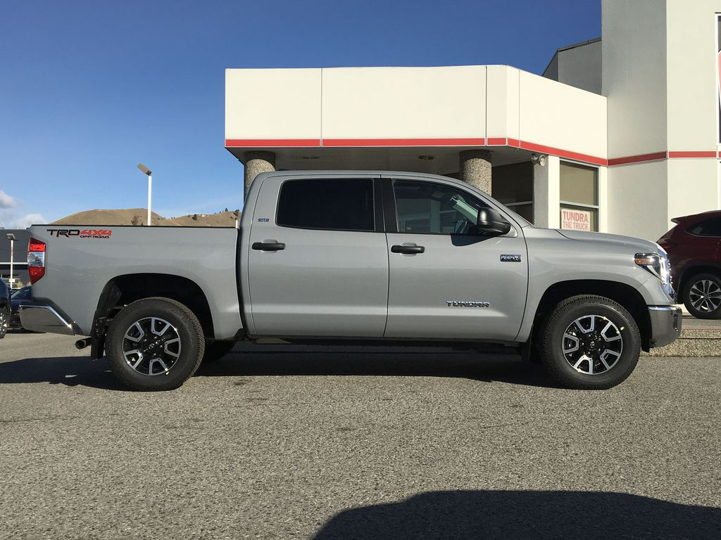 Gray[Cement] 2021 Toyota Tundra TRD Off Road Right Side Photo in Kelowna BC