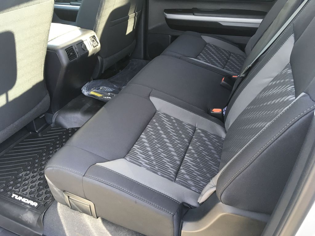 Gray[Cement] 2021 Toyota Tundra TRD Off Road Right Side Rear Seat  Photo in Kelowna BC