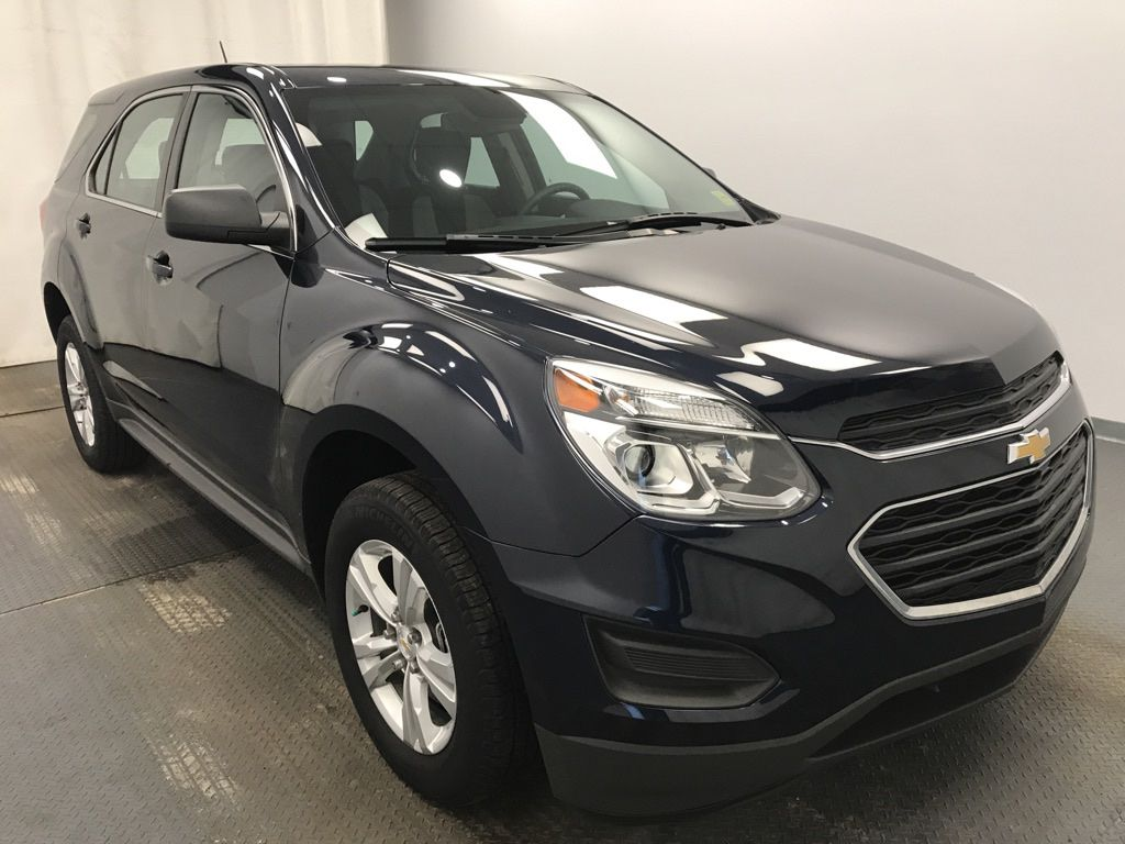 Blue 2016 Chevrolet Equinox Left Front Head Light / Bumper and Grill in Lethbridge AB