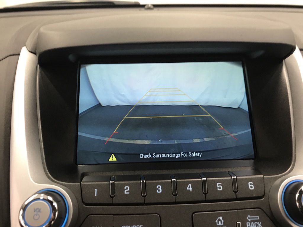 Blue 2016 Chevrolet Equinox Steering Wheel and Dash Photo in Lethbridge AB
