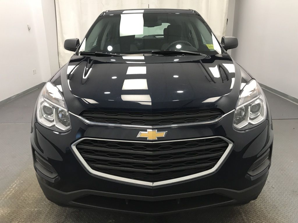 Blue 2016 Chevrolet Equinox Front Vehicle Photo in Lethbridge AB