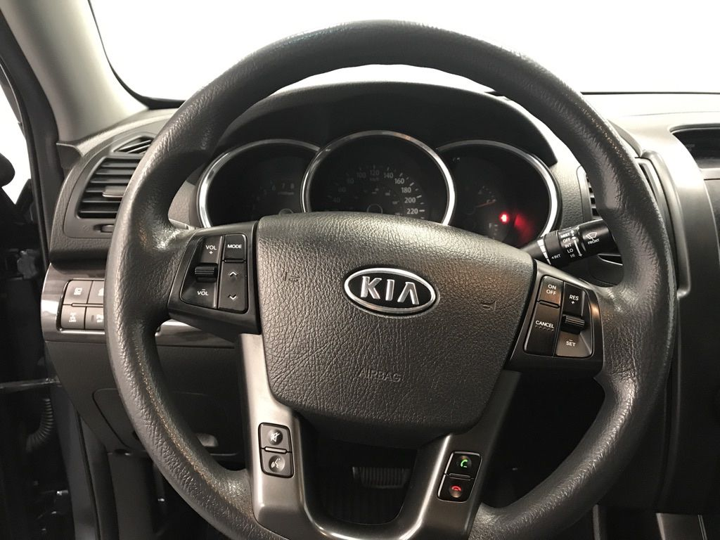 Blue 2011 Kia Sorento Odometer Photo in Lethbridge AB