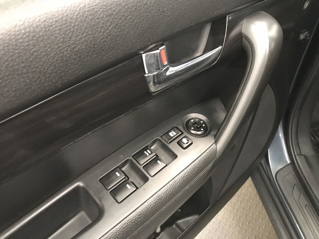 Blue 2011 Kia Sorento Left Side Rear Seat  Photo in Lethbridge AB