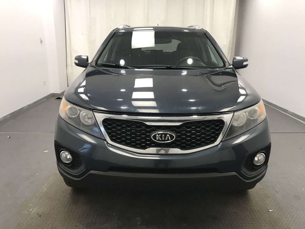 Blue 2011 Kia Sorento Left Front Corner Photo in Lethbridge AB