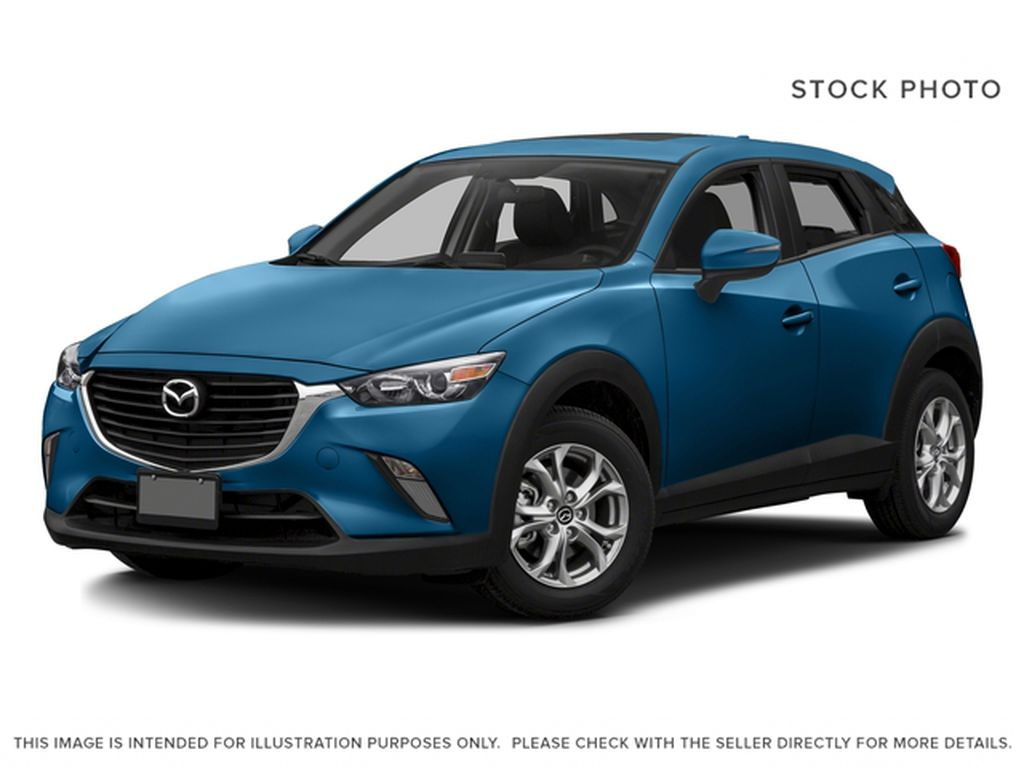Blue[Dynamic Blue Mica] 2016 Mazda CX-3