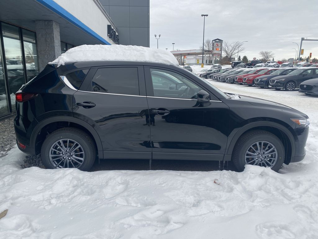 JET BLACK MICA(41W) 2021 Mazda CX-5 GX AWD  Driver's Side Door Controls Photo in Edmonton AB