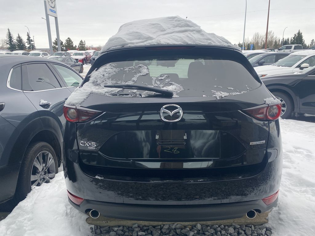 JET BLACK MICA(41W) 2021 Mazda CX-5 GX AWD Left Front Interior Door Panel Photo in Edmonton AB
