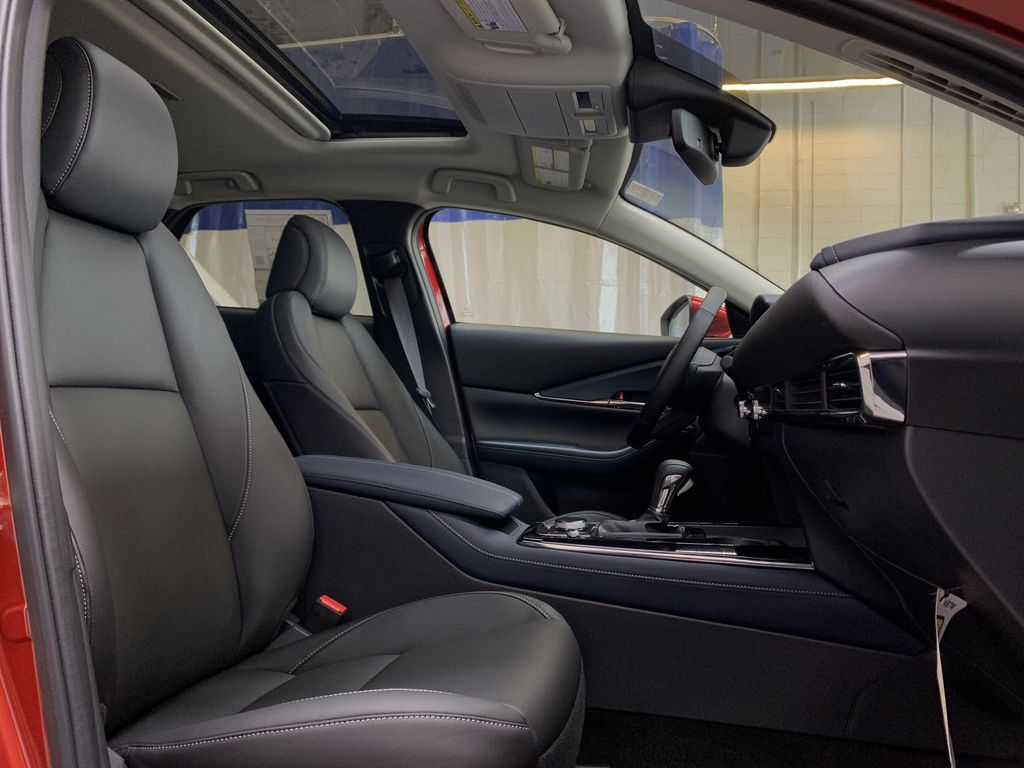 SOUL RED CRYSTAL METALLIC(46V) 2021 Mazda CX-30 GS-L AWD Right Side Front Seat  Photo in Edmonton AB