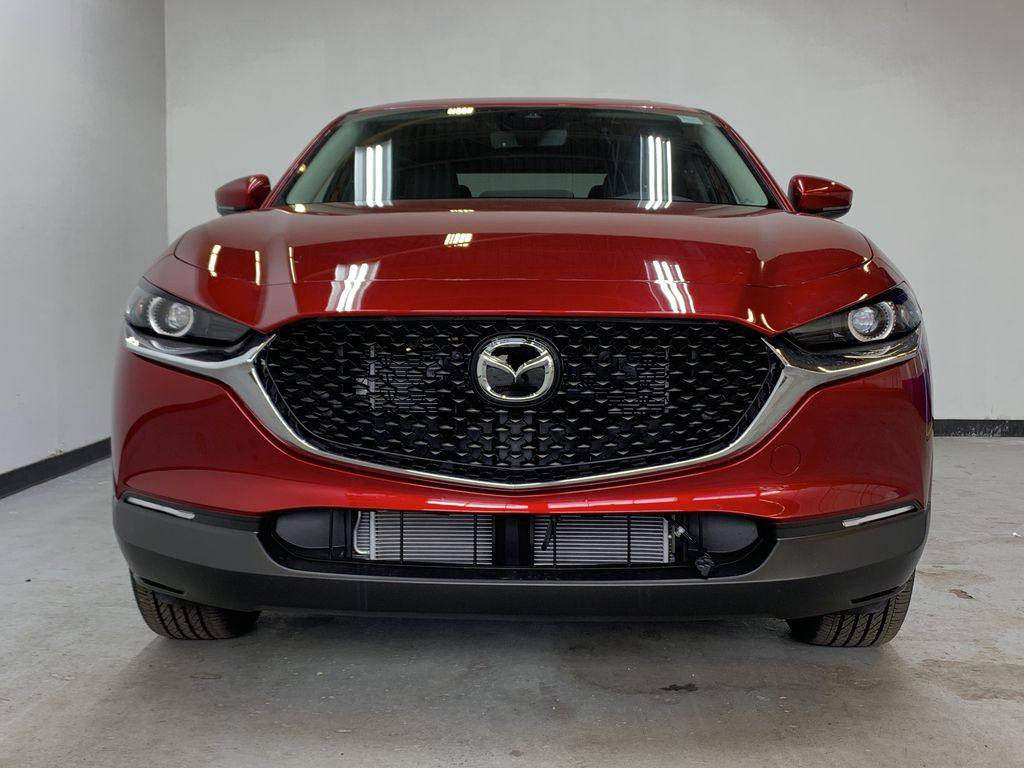 SOUL RED CRYSTAL METALLIC(46V) 2021 Mazda CX-30 GS-L AWD Front Vehicle Photo in Edmonton AB