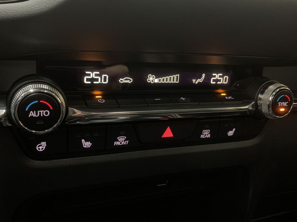 SOUL RED CRYSTAL METALLIC(46V) 2021 Mazda CX-30 GS-L AWD Central Dash Options Photo in Edmonton AB