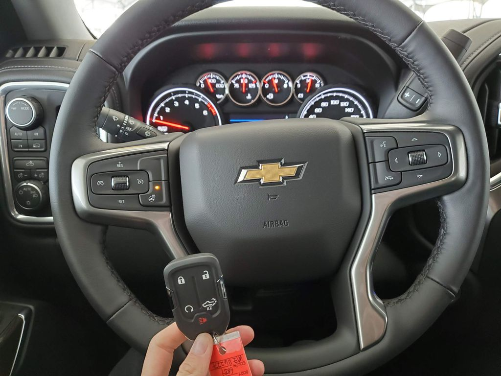 Grey 2021 Chevrolet Silverado 1500 Front Vehicle Photo in Airdrie AB
