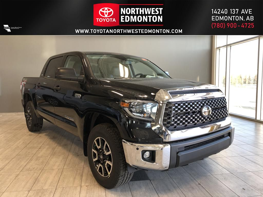 Midnight Black Metallic 2021 Toyota Tundra 4WD Crewmax TRD Off Road Premium
