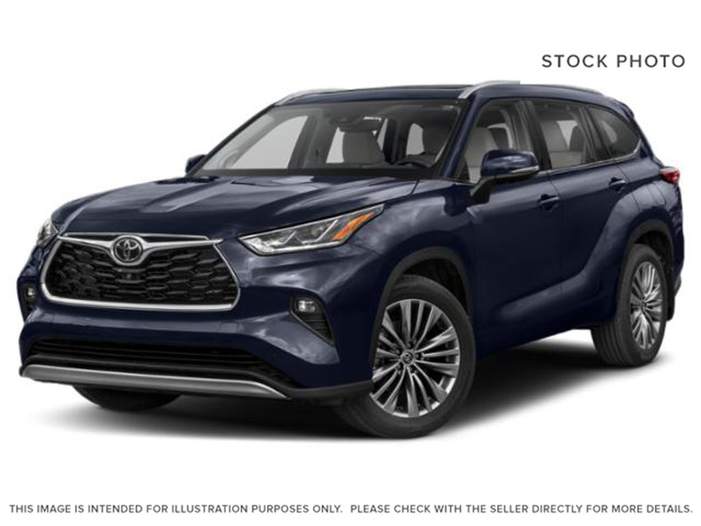 Blue[Blueprint] 2021 Toyota Highlander Hybrid Limited Platinum