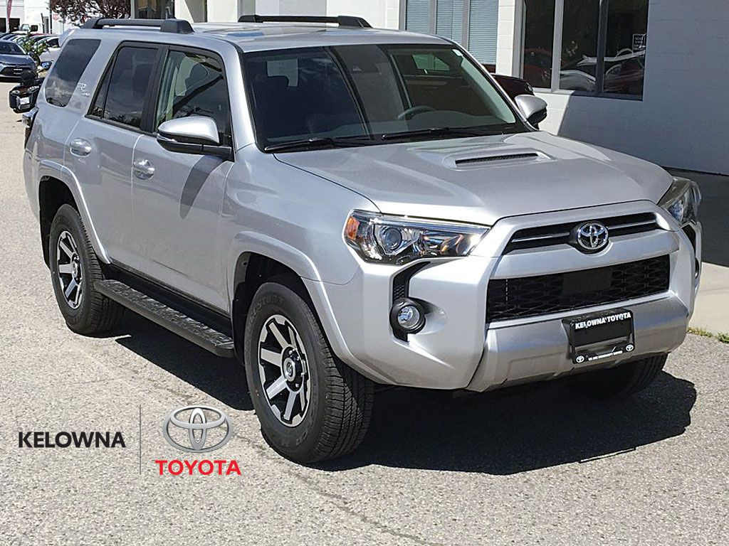Silver[Classic Silver Metallic] 2021 Toyota 4Runner TRD Off Road