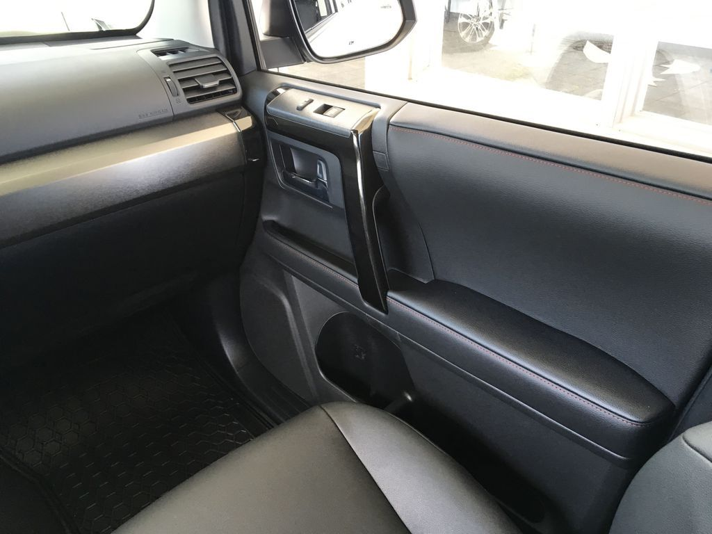 Silver[Classic Silver Metallic] 2021 Toyota 4Runner TRD Off Road Right Front Interior Door Panel Photo in Kelowna BC