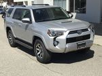 Silver[Classic Silver Metallic] 2021 Toyota 4Runner TRD Off Road Right Front Corner Photo in Kelowna BC