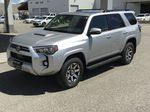 Silver[Classic Silver Metallic] 2021 Toyota 4Runner TRD Off Road Left Front Corner Photo in Kelowna BC