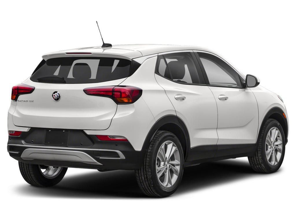 White 2021 Buick Encore GX Left Front Rim and Tire Photo in Lethbridge AB