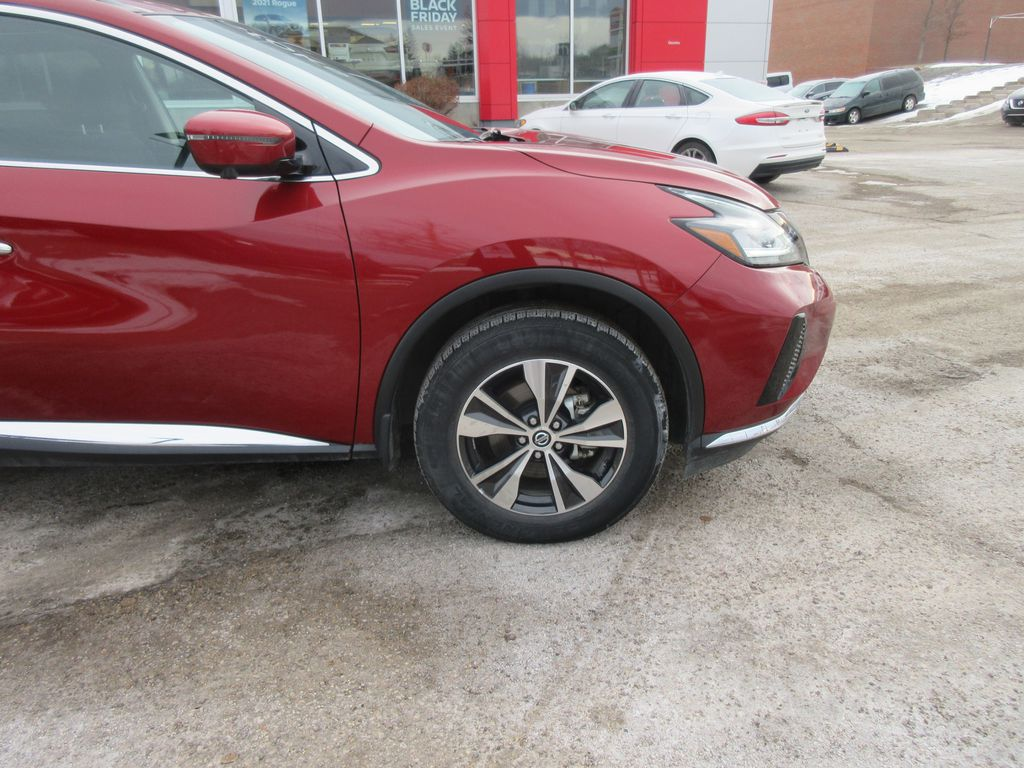 Red[Cayenne Red Metallic] 2020 Nissan Murano Left Side Rear Seat  Photo in Okotoks AB